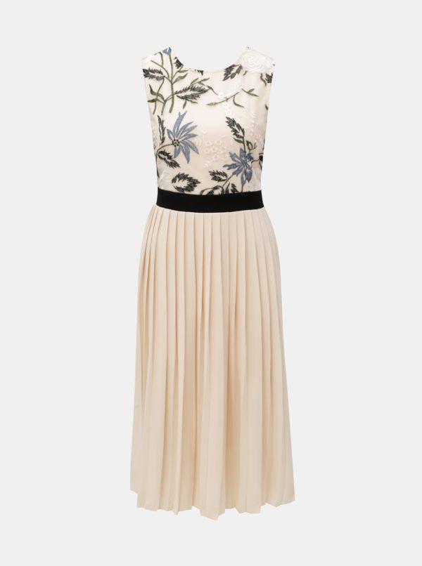 Svetloružové šaty s výšivkou Little Mistress - Šaty na stužkovú ružové - saty na stuzkovu - spoločenské šaty na stužkovú - šaty na stužkovú s dlhým rukávom - plesové šaty na stužkovú - princeznovské šaty na stužkovú - tylové šaty na stužkovú - dlhé šaty na stužkovú
