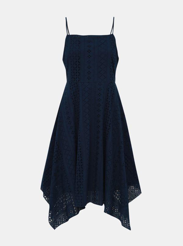 Tmavomodré krajkové šaty Apricot - šaty na stužkovú  kráľovská modrá - saty na stuzkovu - spoločenské šaty na stužkovú - šaty na stužkovú s dlhým rukávom - plesové šaty na stužkovú - princeznovské šaty na stužkovú - tylové šaty na stužkovú - dlhé šaty na stužkovú