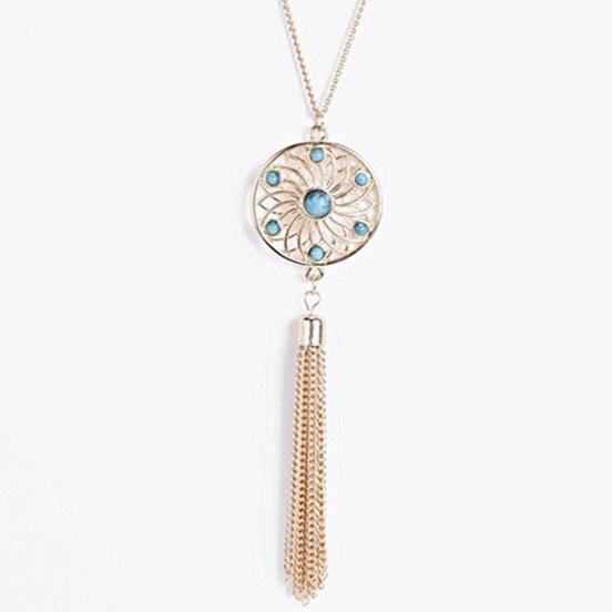 najlacnejšia bižutéria - náhrdelník - lacná bižutéria - bižutéria náušnice - bižutéria náhrdelníky - lacna bizuteria - swarovski sety - swarovsi náhrdelník - najlacnejšia bižutéria - swarovski set - doplnky na stužkovú - šperky sety - šperky z chirurgickej ocele - bižutéria sety - bižutéria náhrdelníky - darček na stužkovú - šperky na stužkovú - set náhrdelník náušnice - Náhrdelník Kruh-Zlatá KP3295