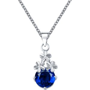 najlacnejšia bižutéria - náhrdelník - lacná bižutéria - bižutéria náušnice - bižutéria náhrdelníky - lacna bizuteria - swarovski sety - swarovsi náhrdelník - najlacnejšia bižutéria - swarovski set - doplnky na stužkovú - šperky sety - šperky z chirurgickej ocele - bižutéria sety - bižutéria náhrdelníky - darček na stužkovú - šperky na stužkovú - set náhrdelník náušnice - Náhrdelník Aimé-Str./Modrá KP3265