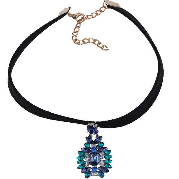 najlacnejšia bižutéria - náhrdelník - lacná bižutéria - bižutéria náušnice - bižutéria náhrdelníky - lacna bizuteria - swarovski sety - swarovsi náhrdelník - najlacnejšia bižutéria - swarovski set - doplnky na stužkovú - šperky sety - šperky z chirurgickej ocele - bižutéria sety - bižutéria náhrdelníky - darček na stužkovú - šperky na stužkovú - set náhrdelník náušnice - Náhrdelník Easy-Typ3 Tyrkys./Modrá KP2394
