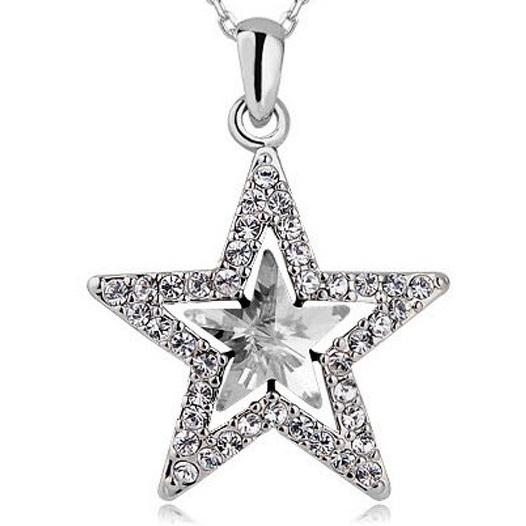 najlacnejšia bižutéria - náhrdelník - lacná bižutéria - bižutéria náušnice - bižutéria náhrdelníky - lacna bizuteria - swarovski sety - swarovsi náhrdelník - najlacnejšia bižutéria - swarovski set - doplnky na stužkovú - šperky sety - šperky z chirurgickej ocele - bižutéria sety - bižutéria náhrdelníky - darček na stužkovú - šperky na stužkovú - set náhrdelník náušnice - Náhrdelník Glow-Kryštálová KP2623