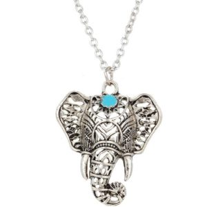 najlacnejšia bižutéria - náhrdelník - lacná bižutéria - bižutéria náušnice - bižutéria náhrdelníky - lacna bizuteria - swarovski sety - swarovsi náhrdelník - najlacnejšia bižutéria - swarovski set - doplnky na stužkovú - šperky sety - šperky z chirurgickej ocele - bižutéria sety - bižutéria náhrdelníky - darček na stužkovú - šperky na stužkovú - set náhrdelník náušnice - Náhrdelník Afrika-Strieborná KP2732