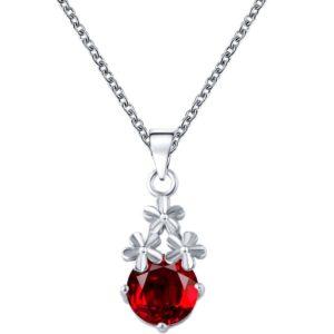 najlacnejšia bižutéria - náhrdelník - lacná bižutéria - bižutéria náušnice - bižutéria náhrdelníky - lacna bizuteria - swarovski sety - swarovsi náhrdelník - najlacnejšia bižutéria - swarovski set - doplnky na stužkovú - šperky sety - šperky z chirurgickej ocele - bižutéria sety - bižutéria náhrdelníky - darček na stužkovú - šperky na stužkovú - set náhrdelník náušnice - Náhrdelník Aimé-Str./Červená KP3064