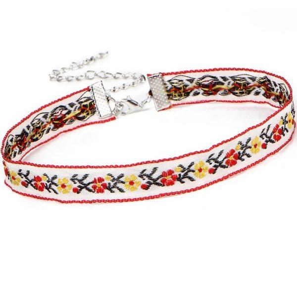 najlacnejšia bižutéria - náhrdelník - lacná bižutéria - bižutéria náušnice - bižutéria náhrdelníky - lacna bizuteria - swarovski sety - swarovsi náhrdelník - najlacnejšia bižutéria - swarovski set - doplnky na stužkovú - šperky sety - šperky z chirurgickej ocele - bižutéria sety - bižutéria náhrdelníky - darček na stužkovú - šperky na stužkovú - set náhrdelník náušnice - Náhrdelník Folklore-Biela KP2516