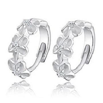 lacna bizuteria - najlacnejšia bižutéria - doplnky na stužkovú - šperky sety - šperky z chirurgickej ocele - darček na stužkovú - šperky na stužkovú - Náušnice Modest-Strieborná KP2336
