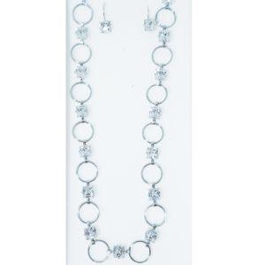 najlacnejšia bižutéria - náhrdelník - lacná bižutéria - bižutéria náušnice - bižutéria náhrdelníky - lacna bizuteria - swarovski sety - swarovsi náhrdelník - najlacnejšia bižutéria - swarovski set - doplnky na stužkovú - šperky sety - šperky z chirurgickej ocele - bižutéria sety - bižutéria náhrdelníky - darček na stužkovú - šperky na stužkovú - set náhrdelník náušnice - Set Kruhy SWAROVSKI-Strieborná KP3932