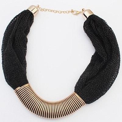 najlacnejšia bižutéria - náhrdelník - lacná bižutéria - bižutéria náušnice - bižutéria náhrdelníky - lacna bizuteria - swarovski sety - swarovsi náhrdelník - najlacnejšia bižutéria - swarovski set - doplnky na stužkovú - šperky sety - šperky z chirurgickej ocele - bižutéria sety - bižutéria náhrdelníky - darček na stužkovú - šperky na stužkovú - set náhrdelník náušnice - Náhrdelník Singapore Chain - Čierna KP2184