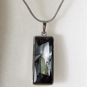 najlacnejšia bižutéria - náhrdelník - lacná bižutéria - bižutéria náušnice - bižutéria náhrdelníky - lacna bizuteria - swarovski sety - swarovsi náhrdelník - najlacnejšia bižutéria - swarovski set - doplnky na stužkovú - šperky sety - šperky z chirurgickej ocele - bižutéria sety - bižutéria náhrdelníky - darček na stužkovú - šperky na stužkovú - set náhrdelník náušnice - Náhrdelník Anabel SWAROVSKI-Čierna KP3923
