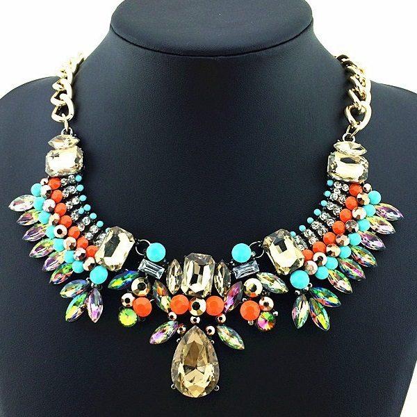 najlacnejšia bižutéria - náhrdelník - lacná bižutéria - bižutéria náušnice - bižutéria náhrdelníky - lacna bizuteria - swarovski sety - swarovsi náhrdelník - najlacnejšia bižutéria - swarovski set - doplnky na stužkovú - šperky sety - šperky z chirurgickej ocele - bižutéria sety - bižutéria náhrdelníky - darček na stužkovú - šperky na stužkovú - set náhrdelník náušnice - Náhrdelník Bamoer Ethnic 2 KP585