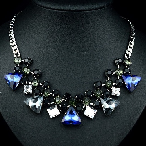 najlacnejšia bižutéria - náhrdelník - lacná bižutéria - bižutéria náušnice - bižutéria náhrdelníky - lacna bizuteria - swarovski sety - swarovsi náhrdelník - najlacnejšia bižutéria - swarovski set - doplnky na stužkovú - šperky sety - šperky z chirurgickej ocele - bižutéria sety - bižutéria náhrdelníky - darček na stužkovú - šperky na stužkovú - set náhrdelník náušnice - Náhrdelník Bamoer Choker KP549
