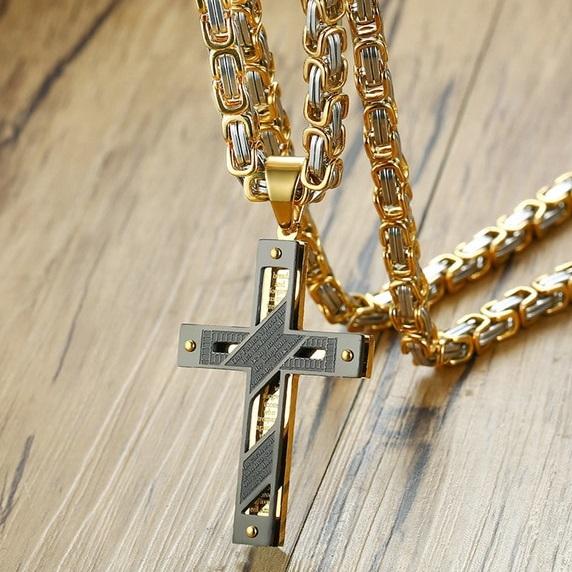 najlacnejšia bižutéria - náhrdelník - lacná bižutéria - bižutéria náušnice - bižutéria náhrdelníky - lacna bizuteria - swarovski sety - swarovsi náhrdelník - najlacnejšia bižutéria - swarovski set - doplnky na stužkovú - šperky sety - šperky z chirurgickej ocele - bižutéria sety - bižutéria náhrdelníky - darček na stužkovú - šperky na stužkovú - set náhrdelník náušnice - Pánsky Náhrdelník Belief-Typ3 KP4827