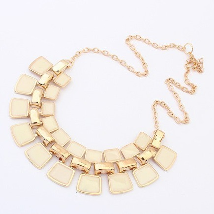 najlacnejšia bižutéria - náhrdelník - lacná bižutéria - bižutéria náušnice - bižutéria náhrdelníky - lacna bizuteria - swarovski sety - swarovsi náhrdelník - najlacnejšia bižutéria - swarovski set - doplnky na stužkovú - šperky sety - šperky z chirurgickej ocele - bižutéria sety - bižutéria náhrdelníky - darček na stužkovú - šperky na stužkovú - set náhrdelník náušnice - Náhrdelník Bohemia Charm - Biela KP697