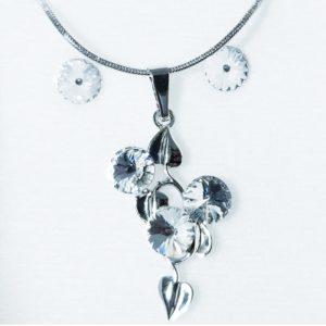 najlacnejšia bižutéria - náhrdelník - lacná bižutéria - bižutéria náušnice - bižutéria náhrdelníky - lacna bizuteria - swarovski sety - swarovsi náhrdelník - najlacnejšia bižutéria - swarovski set - doplnky na stužkovú - šperky sety - šperky z chirurgickej ocele - bižutéria sety - bižutéria náhrdelníky - darček na stužkovú - šperky na stužkovú - set náhrdelník náušnice - Set Carla SWAROVSKI-Str./Kryštálová KP3903