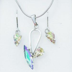 najlacnejšia bižutéria - náhrdelník - lacná bižutéria - bižutéria náušnice - bižutéria náhrdelníky - lacna bizuteria - swarovski sety - swarovsi náhrdelník - najlacnejšia bižutéria - swarovski set - doplnky na stužkovú - šperky sety - šperky z chirurgickej ocele - bižutéria sety - bižutéria náhrdelníky - darček na stužkovú - šperky na stužkovú - set náhrdelník náušnice - Set Daria SWAROVSKI-Str./KryštálováAB KP3899