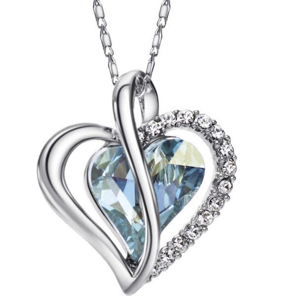najlacnejšia bižutéria - náhrdelník - lacná bižutéria - bižutéria náušnice - bižutéria náhrdelníky - lacna bizuteria - swarovski sety - swarovsi náhrdelník - najlacnejšia bižutéria - swarovski set - doplnky na stužkovú - šperky sety - šperky z chirurgickej ocele - bižutéria sety - bižutéria náhrdelníky - darček na stužkovú - šperky na stužkovú - set náhrdelník náušnice - Náhrdelník Glory Heart KP1939