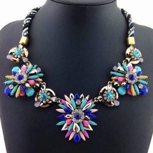 najlacnejšia bižutéria - náhrdelník - lacná bižutéria - bižutéria náušnice - bižutéria náhrdelníky - lacna bizuteria - swarovski sety - swarovsi náhrdelník - najlacnejšia bižutéria - swarovski set - doplnky na stužkovú - šperky sety - šperky z chirurgickej ocele - bižutéria sety - bižutéria náhrdelníky - darček na stužkovú - šperky na stužkovú - set náhrdelník náušnice - Náhrdelník Acorn - Multi KP1023