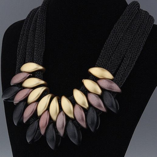 najlacnejšia bižutéria - náhrdelník - lacná bižutéria - bižutéria náušnice - bižutéria náhrdelníky - lacna bizuteria - swarovski sety - swarovsi náhrdelník - najlacnejšia bižutéria - swarovski set - doplnky na stužkovú - šperky sety - šperky z chirurgickej ocele - bižutéria sety - bižutéria náhrdelníky - darček na stužkovú - šperky na stužkovú - set náhrdelník náušnice - Náhrdelník Foetus - čierna KP596