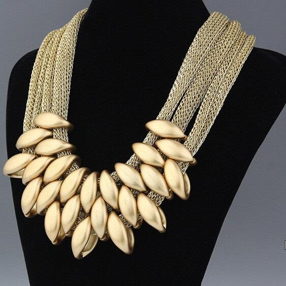 najlacnejšia bižutéria - náhrdelník - lacná bižutéria - bižutéria náušnice - bižutéria náhrdelníky - lacna bizuteria - swarovski sety - swarovsi náhrdelník - najlacnejšia bižutéria - swarovski set - doplnky na stužkovú - šperky sety - šperky z chirurgickej ocele - bižutéria sety - bižutéria náhrdelníky - darček na stužkovú - šperky na stužkovú - set náhrdelník náušnice - Náhrdelník Foetus - zlatá KP597