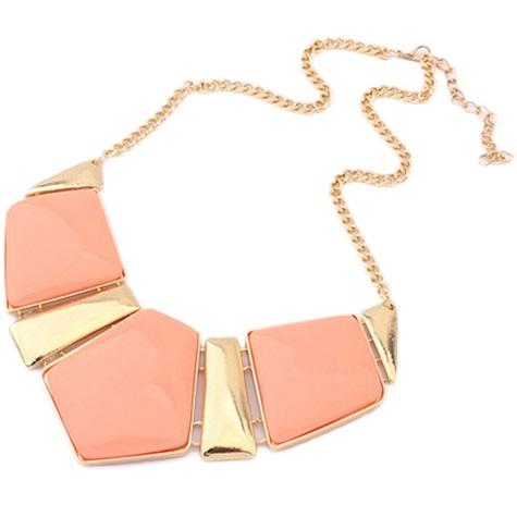najlacnejšia bižutéria - náhrdelník - lacná bižutéria - bižutéria náušnice - bižutéria náhrdelníky - lacna bizuteria - swarovski sety - swarovsi náhrdelník - najlacnejšia bižutéria - swarovski set - doplnky na stužkovú - šperky sety - šperky z chirurgickej ocele - bižutéria sety - bižutéria náhrdelníky - darček na stužkovú - šperky na stužkovú - set náhrdelník náušnice - Náhrdelník Monumental - ružová KP1438