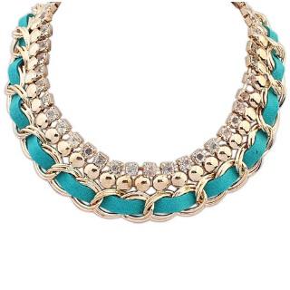 najlacnejšia bižutéria - náhrdelník - lacná bižutéria - bižutéria náušnice - bižutéria náhrdelníky - lacna bizuteria - swarovski sety - swarovsi náhrdelník - najlacnejšia bižutéria - swarovski set - doplnky na stužkovú - šperky sety - šperky z chirurgickej ocele - bižutéria sety - bižutéria náhrdelníky - darček na stužkovú - šperky na stužkovú - set náhrdelník náušnice - Náhrdelník Nissa - Tyrkysová KP1028