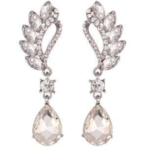 lacna bizuteria - najlacnejšia bižutéria - doplnky na stužkovú - šperky sety - šperky z chirurgickej ocele - darček na stužkovú - šperky na stužkovú - Náušnice Beautiful - Kryštálová KP1854