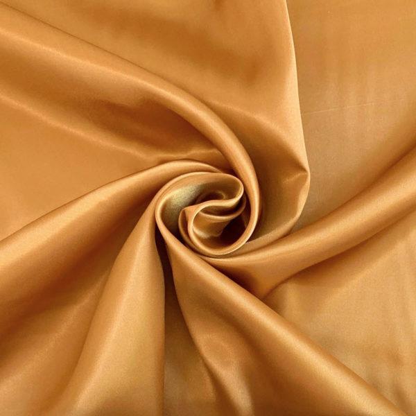 Satén gold - luxusné látky na šaty -  luxusné látky metráž -  satén -  polyesterový satén -  saten latka predaj -  cerveny saten -  hodvabny saten -  hruby saten -  satenove saty na stuzkovu -  saty na stuzkovu -  latky na saty na stuzkovu -  latky na plesove saty