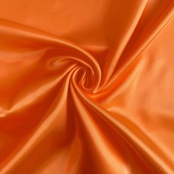 Satén orange - luxusné látky na šaty -  luxusné látky metráž -  satén -  polyesterový satén -  saten latka predaj -  cerveny saten -  hodvabny saten -  hruby saten -  satenove saty na stuzkovu -  saty na stuzkovu -  latky na saty na stuzkovu -  latky na plesove saty