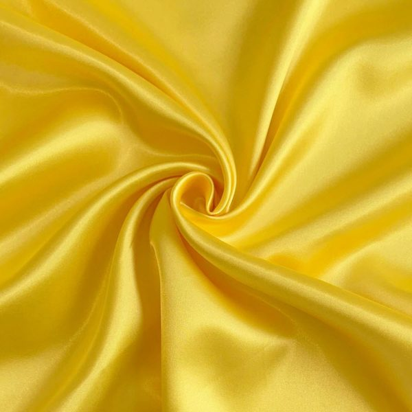 Satén yellow - luxusné látky na šaty -  luxusné látky metráž -  satén -  polyesterový satén -  saten latka predaj -  cerveny saten -  hodvabny saten -  hruby saten -  satenove saty na stuzkovu -  saty na stuzkovu -  latky na saty na stuzkovu -  latky na plesove saty