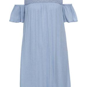 Šaty s čipkou a odhalenými ramenami bonprix - šaty na stužkovú s čipkou - saty na stuzkovu - spoločenské šaty na stužkovú - šaty na stužkovú s dlhým rukávom - plesové šaty na stužkovú - princeznovské šaty na stužkovú - tylové šaty na stužkovú - dlhé šaty na stužkovú - večerné šaty na stužkovú - čipkované šaty na stužkovú - čipkové šaty na stužkovú