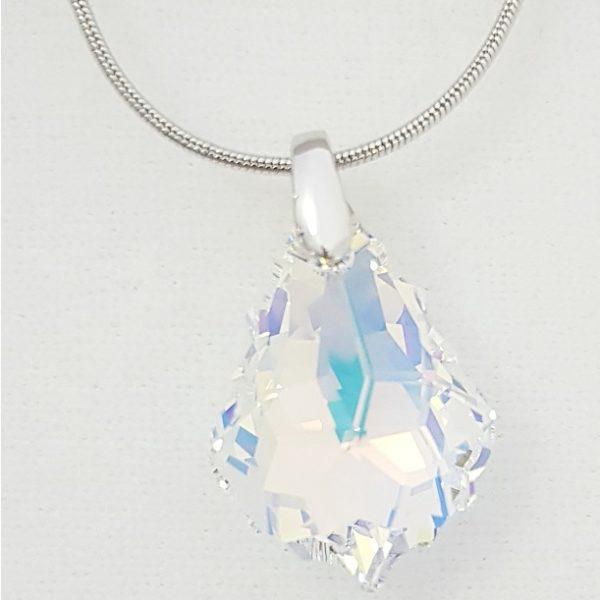 najlacnejšia bižutéria - náhrdelník - lacná bižutéria - bižutéria náušnice - bižutéria náhrdelníky - lacna bizuteria - swarovski sety - swarovsi náhrdelník - najlacnejšia bižutéria - swarovski set - doplnky na stužkovú - šperky sety - šperky z chirurgickej ocele - bižutéria sety - bižutéria náhrdelníky - darček na stužkovú - šperky na stužkovú - set náhrdelník náušnice - Náhrdelník Tear SWAROVSKI-Kryštálová KP4719