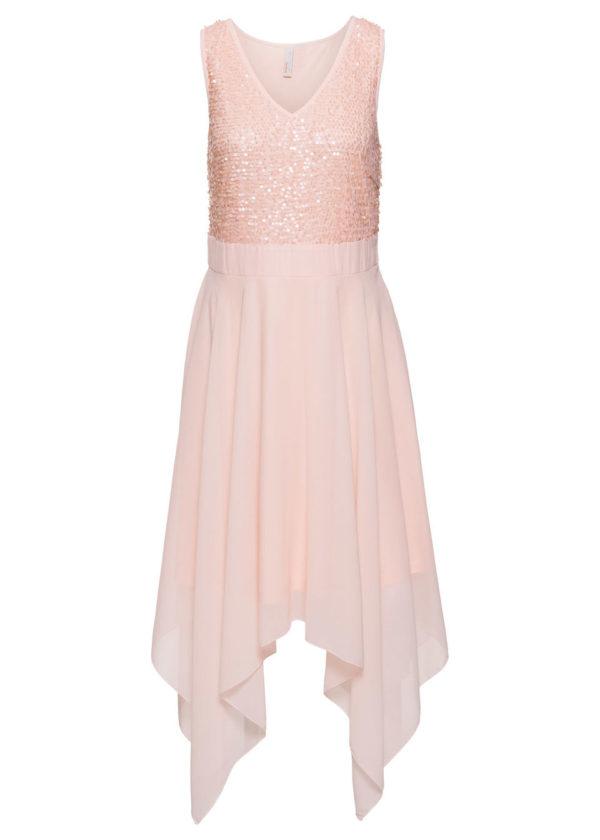 Večerné šaty s flitrami bonprix - šaty na stužkovú - saty na stuzkovu - spoločenské šaty na stužkovú - šaty na stužkovú s dlhým rukávom - plesové šaty na stužkovú - princeznovské šaty na stužkovú - tylové šaty na stužkovú - dlhé šaty na stužkovú - večerné šaty na stužkovú