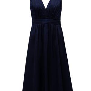 Tmavomodré šaty Little Mistress - šaty na stužkovú  kráľovská modrá - saty na stuzkovu - spoločenské šaty na stužkovú - šaty na stužkovú s dlhým rukávom - plesové šaty na stužkovú - princeznovské šaty na stužkovú - tylové šaty na stužkovú - dlhé šaty na stužkovú