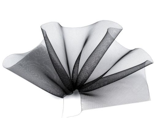 Modistická krinolína na vystuženie šiat a výrobu fascinátorov  šírka 16 cm - doplnky do vlasov - fascinátor - extravagantné doplnky k spoločenským šatám - čelenka do vlasov - doplnky na stužkovú - šaty na stužkovú mama