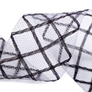 Modistická krinolína na vystuženie šiat a výrobu fascinátorov šírka 4
