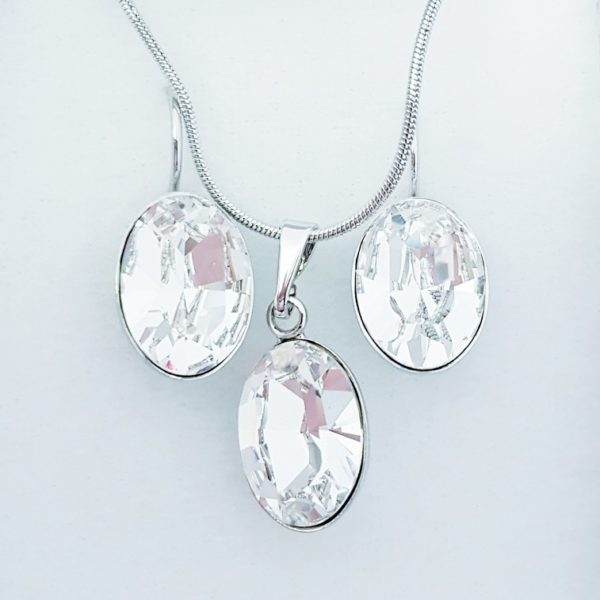 najlacnejšia bižutéria - náhrdelník - lacná bižutéria - bižutéria náušnice - bižutéria náhrdelníky - lacna bizuteria - swarovski sety - swarovsi náhrdelník - najlacnejšia bižutéria - swarovski set - doplnky na stužkovú - šperky sety - šperky z chirurgickej ocele - bižutéria sety - bižutéria náhrdelníky - darček na stužkovú - šperky na stužkovú - set náhrdelník náušnice - Set Bertina SWAROVSKI-Kryštálová KP4744