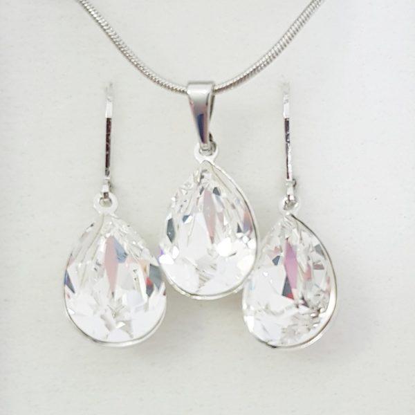 najlacnejšia bižutéria - náhrdelník - lacná bižutéria - bižutéria náušnice - bižutéria náhrdelníky - lacna bizuteria - swarovski sety - swarovsi náhrdelník - najlacnejšia bižutéria - swarovski set - doplnky na stužkovú - šperky sety - šperky z chirurgickej ocele - bižutéria sety - bižutéria náhrdelníky - darček na stužkovú - šperky na stužkovú - set náhrdelník náušnice - Set Corinna SWAROVSKI-Kryštálová KP4745