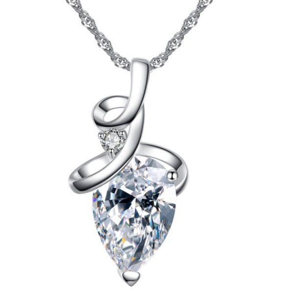 najlacnejšia bižutéria - náhrdelník - lacná bižutéria - bižutéria náušnice - bižutéria náhrdelníky - lacna bizuteria - swarovski sety - swarovsi náhrdelník - najlacnejšia bižutéria - swarovski set - doplnky na stužkovú - šperky sety - šperky z chirurgickej ocele - bižutéria sety - bižutéria náhrdelníky - darček na stužkovú - šperky na stužkovú - set náhrdelník náušnice - Náhrdelník Crystal Iris-Kryštálová KP4470