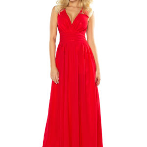 Dámske šaty 166-2 - šaty na stužkovú - saty na stuzkovu - spoločenské šaty na stužkovú - šaty na stužkovú s dlhým rukávom - plesové šaty na stužkovú - princeznovské šaty na stužkovú - tylové šaty na stužkovú - dlhé šaty na stužkovú - maxi šaty na stužkovú