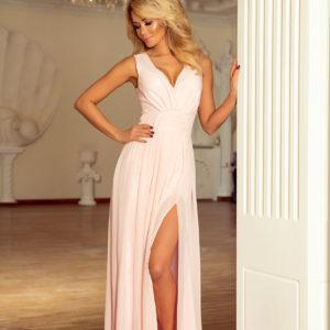 Dámske šaty 166-4 - šaty na stužkovú - saty na stuzkovu - spoločenské šaty na stužkovú - šaty na stužkovú s dlhým rukávom - plesové šaty na stužkovú - princeznovské šaty na stužkovú - tylové šaty na stužkovú - dlhé šaty na stužkovú - maxi šaty na stužkovú