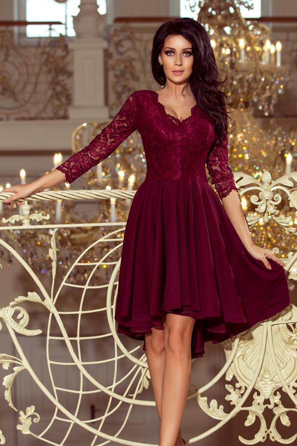 Dámske šaty 210-1 - šaty na stužkovú - saty na stuzkovu - spoločenské šaty na stužkovú - šaty na stužkovú s dlhým rukávom - plesové šaty na stužkovú - princeznovské šaty na stužkovú - tylové šaty na stužkovú - dlhé šaty na stužkovú - maxi šaty na stužkovú - šaty na stužkovú s rukávmi - spoločenské šaty s rukávmi