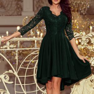 Dámske šaty 210-3 - šaty na stužkovú - saty na stuzkovu - spoločenské šaty na stužkovú - šaty na stužkovú s dlhým rukávom - plesové šaty na stužkovú - princeznovské šaty na stužkovú - tylové šaty na stužkovú - dlhé šaty na stužkovú - maxi šaty na stužkovú - šaty na stužkovú s rukávmi - spoločenské šaty s rukávmi