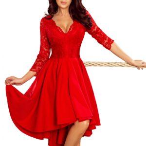 Dámske šaty 210-6 - šaty na stužkovú - saty na stuzkovu - spoločenské šaty na stužkovú - šaty na stužkovú s dlhým rukávom - plesové šaty na stužkovú - princeznovské šaty na stužkovú - tylové šaty na stužkovú - dlhé šaty na stužkovú - maxi šaty na stužkovú - šaty na stužkovú s rukávmi - spoločenské šaty s rukávmi