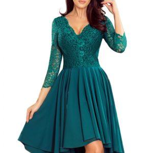 Dámske šaty 210-8 - šaty na stužkovú - saty na stuzkovu - spoločenské šaty na stužkovú - šaty na stužkovú s dlhým rukávom - plesové šaty na stužkovú - princeznovské šaty na stužkovú - tylové šaty na stužkovú - dlhé šaty na stužkovú - maxi šaty na stužkovú - šaty na stužkovú s rukávmi - spoločenské šaty s rukávmi