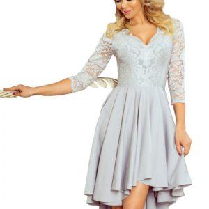 Dámske šaty 210-9 - šaty na stužkovú - saty na stuzkovu - spoločenské šaty na stužkovú - šaty na stužkovú s dlhým rukávom - plesové šaty na stužkovú - princeznovské šaty na stužkovú - tylové šaty na stužkovú - dlhé šaty na stužkovú - maxi šaty na stužkovú - šaty na stužkovú s rukávmi - spoločenské šaty s rukávmi