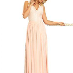Dámske šaty 211-4 - šaty na stužkovú - saty na stuzkovu - spoločenské šaty na stužkovú - šaty na stužkovú s dlhým rukávom - plesové šaty na stužkovú - princeznovské šaty na stužkovú - tylové šaty na stužkovú - dlhé šaty na stužkovú - maxi šaty na stužkovú