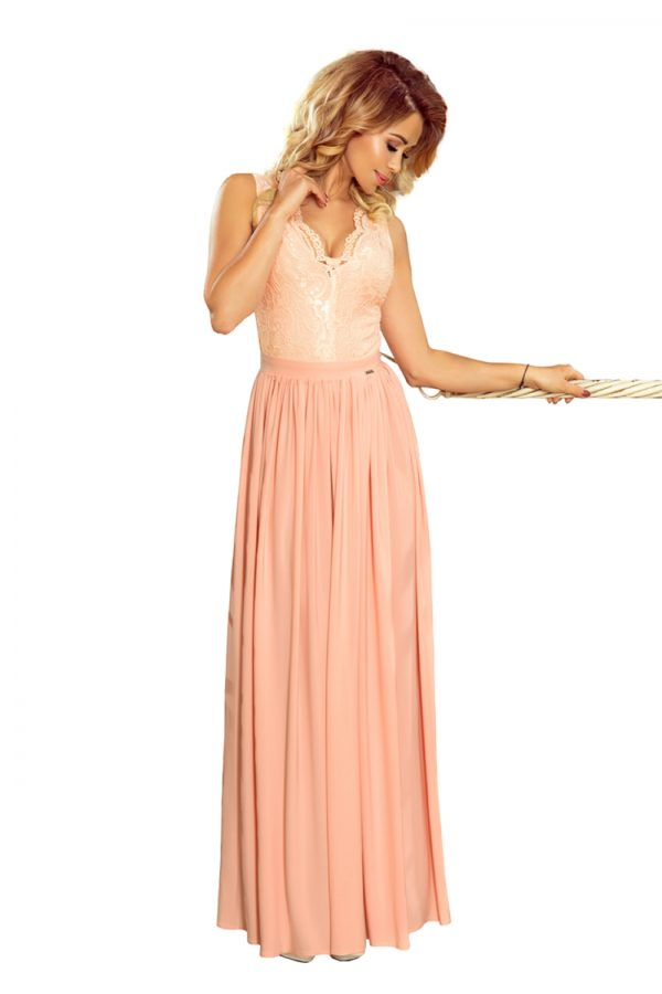 Dámske šaty 211-5 - šaty na stužkovú - saty na stuzkovu - spoločenské šaty na stužkovú - šaty na stužkovú s dlhým rukávom - plesové šaty na stužkovú - princeznovské šaty na stužkovú - tylové šaty na stužkovú - dlhé šaty na stužkovú - maxi šaty na stužkovú