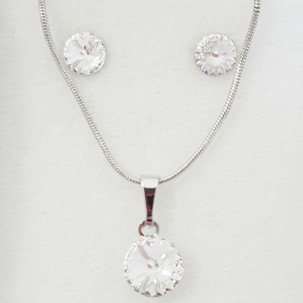 najlacnejšia bižutéria - náhrdelník - lacná bižutéria - bižutéria náušnice - bižutéria náhrdelníky - lacna bizuteria - swarovski sety - swarovsi náhrdelník - najlacnejšia bižutéria - swarovski set - doplnky na stužkovú - šperky sety - šperky z chirurgickej ocele - bižutéria sety - bižutéria náhrdelníky - darček na stužkovú - šperky na stužkovú - set náhrdelník náušnice - Set Dorita SWAROVSKI-Kryštálová KP4746