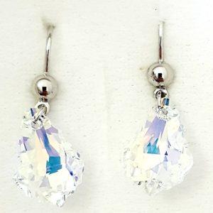lacna bizuteria - najlacnejšia bižutéria - doplnky na stužkovú - šperky sety - šperky z chirurgickej ocele - darček na stužkovú - šperky na stužkovú - Náušnice Tear SWAROVSKI-Kryštálová KP4724